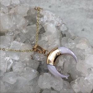Jewelry - ❣️Last One❣️Petite Crescent Shell Necklace